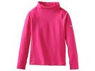 Nike Kids Nike Pro Hyperwarm Mock II (Little Kids/Big Kids) (Vivid Pink/Matte Silver)