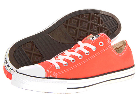 Converse - Chuck Taylor All Star Seasonal Ox (Fiery Coral) Classic Shoes