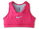 Nike Kids Pro Core Mesh Sports Bra (Little Kids/Big Kids) (Pink Force/Light Armory Blue/Light Armory Blue)