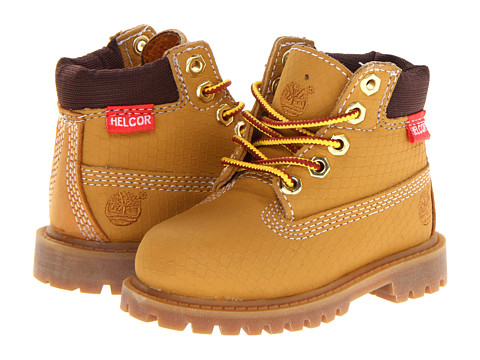 Timberland Kids - 6 Premium Waterproof Scuff Proof II Boot (Toddler/Little Kid) (Wheat Rebar) Boys Shoes