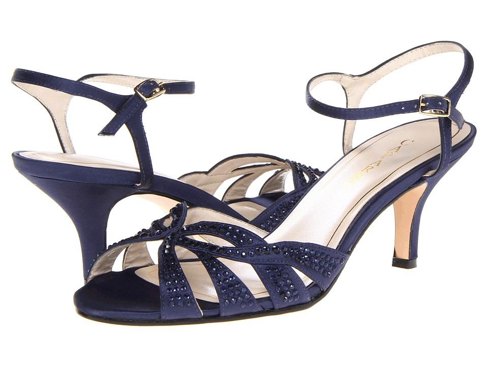 Caparros Heirloom (Blue Satin) High Heels