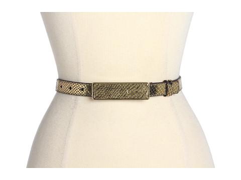 Lodis Accessories Crystal Cove Adjustable Inset Plaque (Bronze) Women's Belts