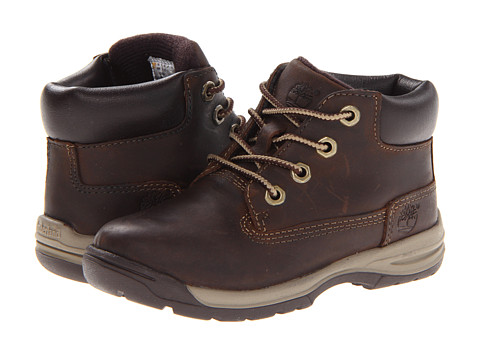 Timberland Kids - Earthkeepers Timber Tykes Lace Boot (Toddler) (Brown) Girls Shoes