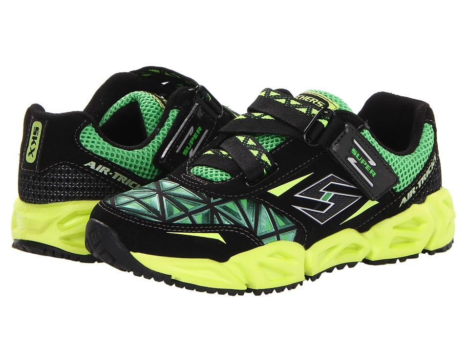 32f975836b5d SKECHERS KIDS Super Z Sneaker 95790L Boys Shoes (Black) on PopScreen
