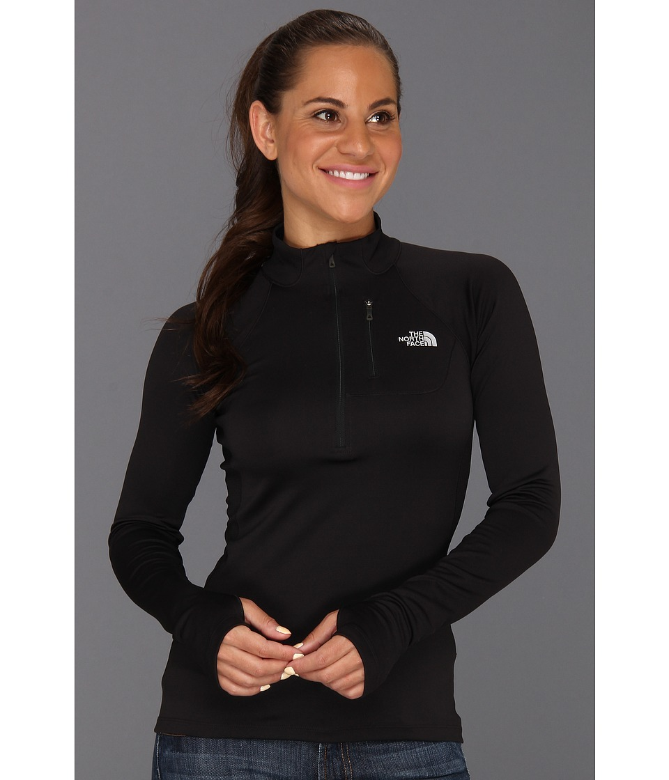 The North Face - Impulse Active 1/4 Zip (TNF Black) Women