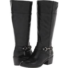LifeStride Whisper Wide Shaft (Black) Footwear