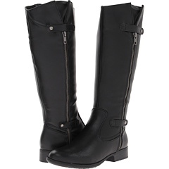 LifeStride X Zip (Black Tigris) Footwear