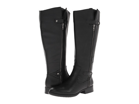 LifeStride - X-Zip Wide Shaft (Black Tigris) Women