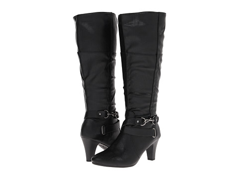 LifeStride - Yorn #2 Wide Calf (Black Musical) Women's Boots