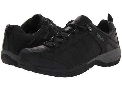 Teva - Kimtah WP Leather (Black) Men's Shoes