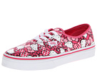 Vans Kids - Authentic (Little Kid/Big Kid) ((Hello Kitty) Morning Glory/Hot Pink) - Footwear