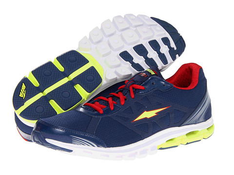 Avia - CC Release Tech A5781M (Jet Ink Blue/Formula One Red/Lime Shock) Men's Running Shoes