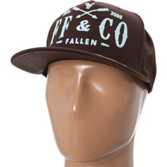 SALE! $16.99 - Save $13 on Fallen Gold Rush Snapback (Dk Chocolate Chlorine) Hats - 43.37% OFF $30.00