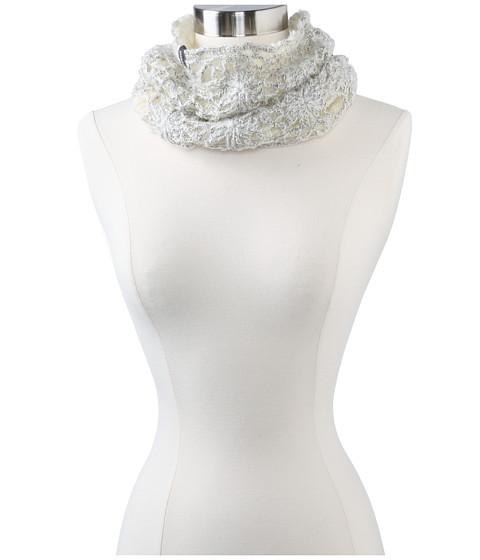 Pistil - Violet Neck Warmer (Ivory) Scarves
