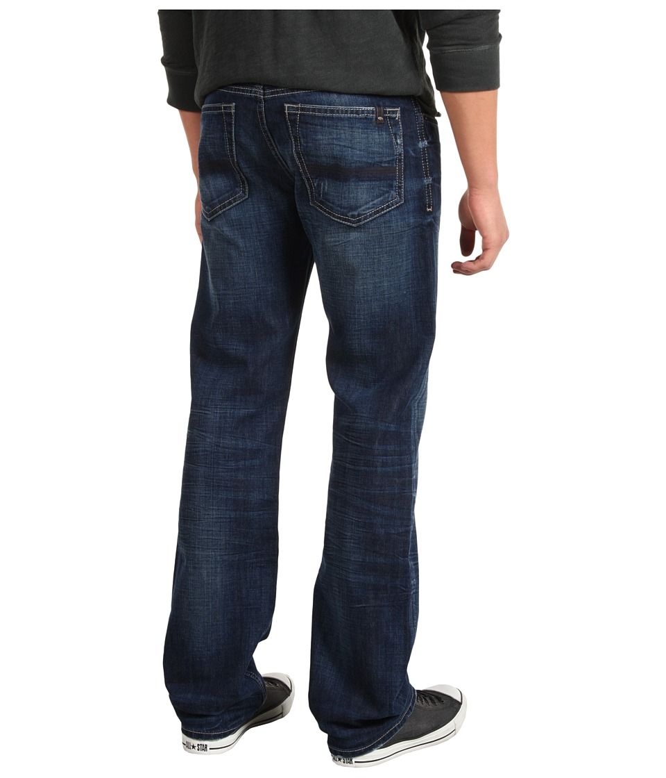 Buffalo David Bitton - Driven Straight Bullet Denim in Slightly Sandblasted (Slightly Sandblasted) Men's Jeans