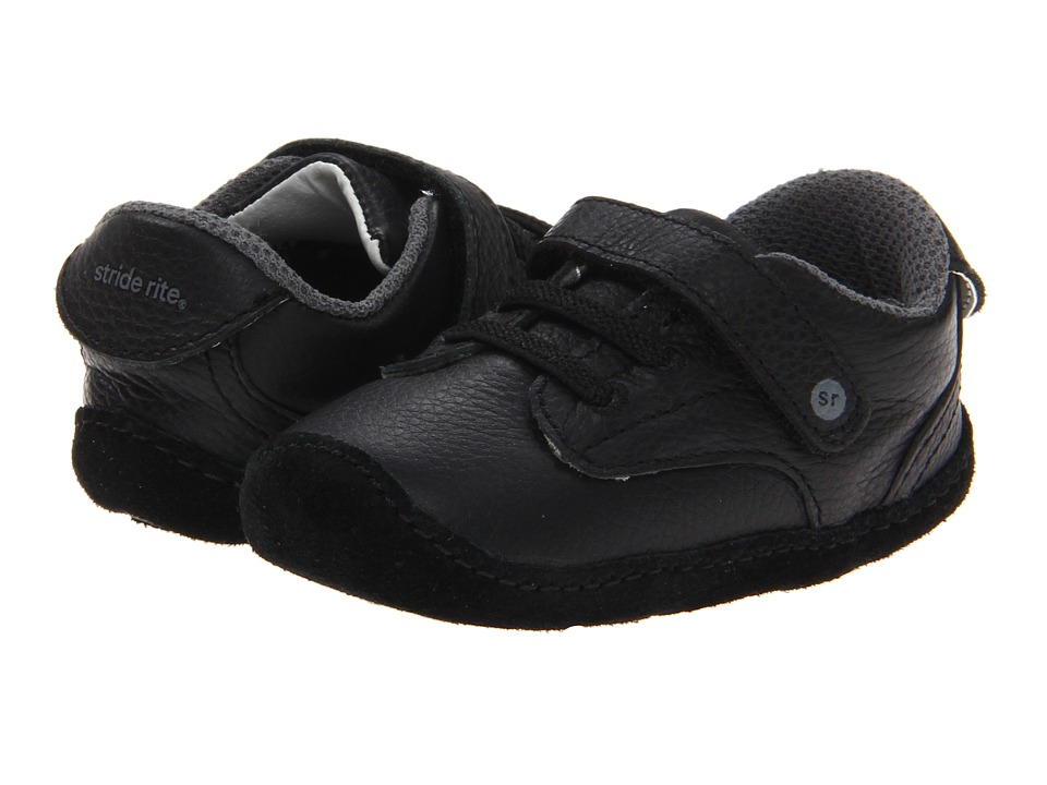 Stride Rite - Crawl Dressed-up Desmond (Infant/Toddler) (Black) Boy's Shoes