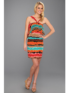 SALE! $54.99 - Save $63 on Max and Cleo Becca Halter Dress (Multi) Apparel - 53.40% OFF $118.00