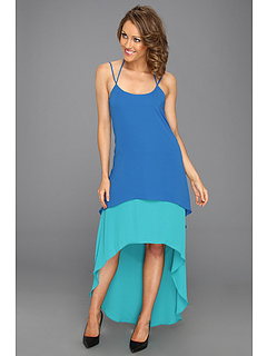 SALE! $76.99 - Save $61 on Max and Cleo Tricia Two Tone High Low Dress (Peacock Teal) Apparel - 44.21% OFF $138.00