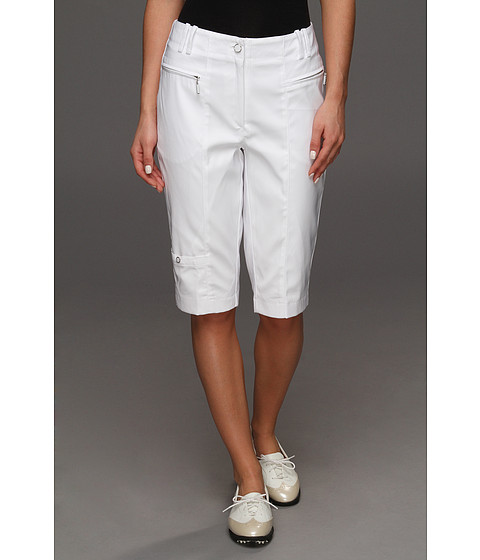 DKNY Golf - Candi 24 Knee Capri (Sugar White) Women's Capri