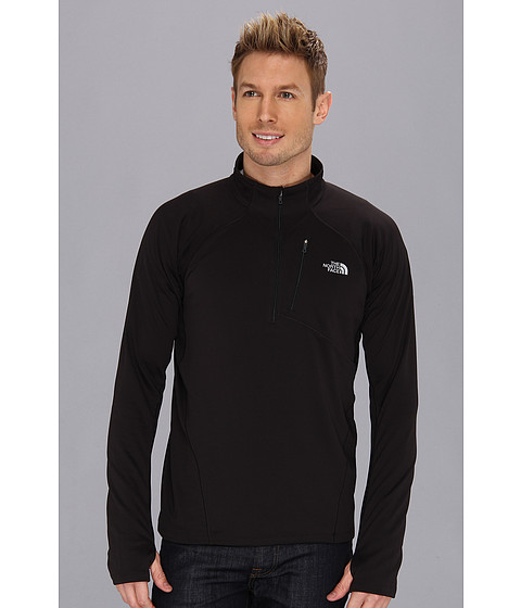 The North Face - Impulse Active 1/4 Zip (TNF Black) Men's Workout