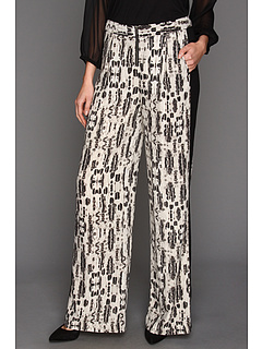 SALE! $99.99 - Save $98 on BCBGMAXAZRIA Rasha Trouser (Black Combo) Apparel - 49.50% OFF $198.00