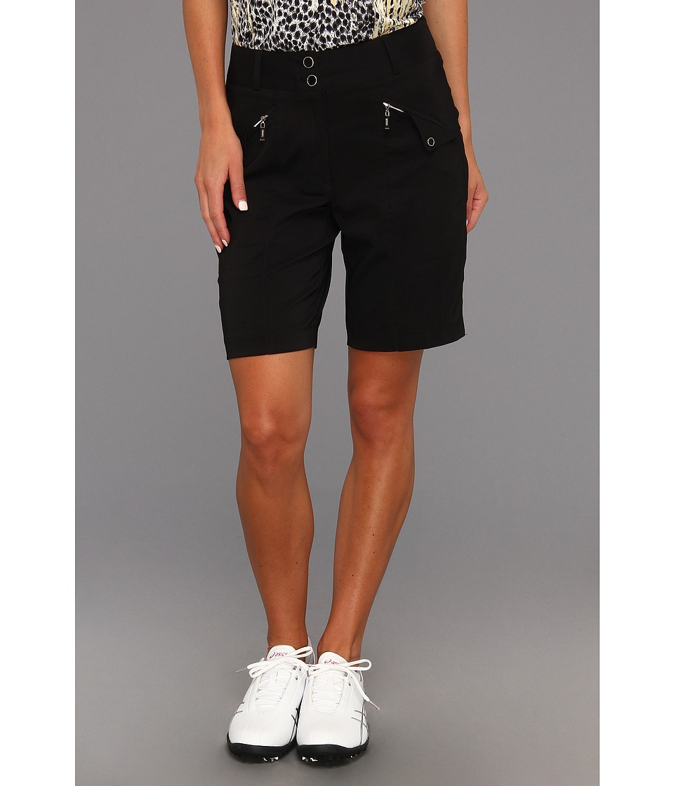 DKNY Golf - Cashmire 19 in. Short (Jet Black) Women's Shorts