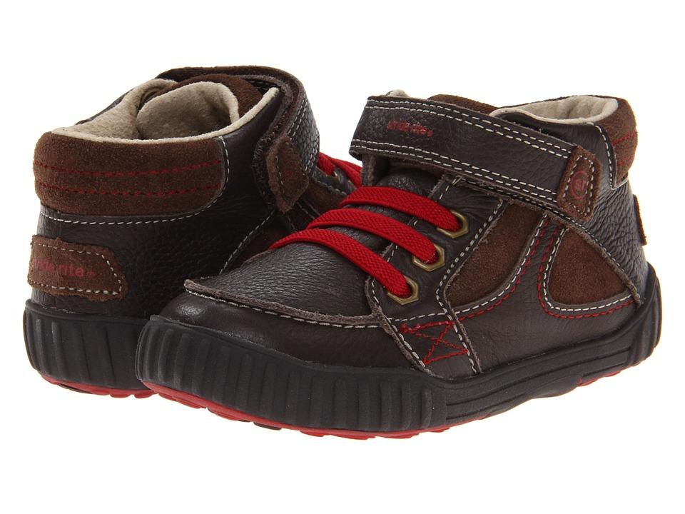 Stride Rite - SRT Quest (Toddler) (Espresso) Boy's Shoes
