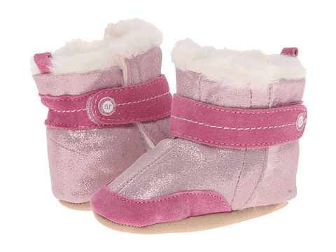 Stride Rite - Crib Precious in Pink Bootie (Infant) (Pink) Girl's Shoes