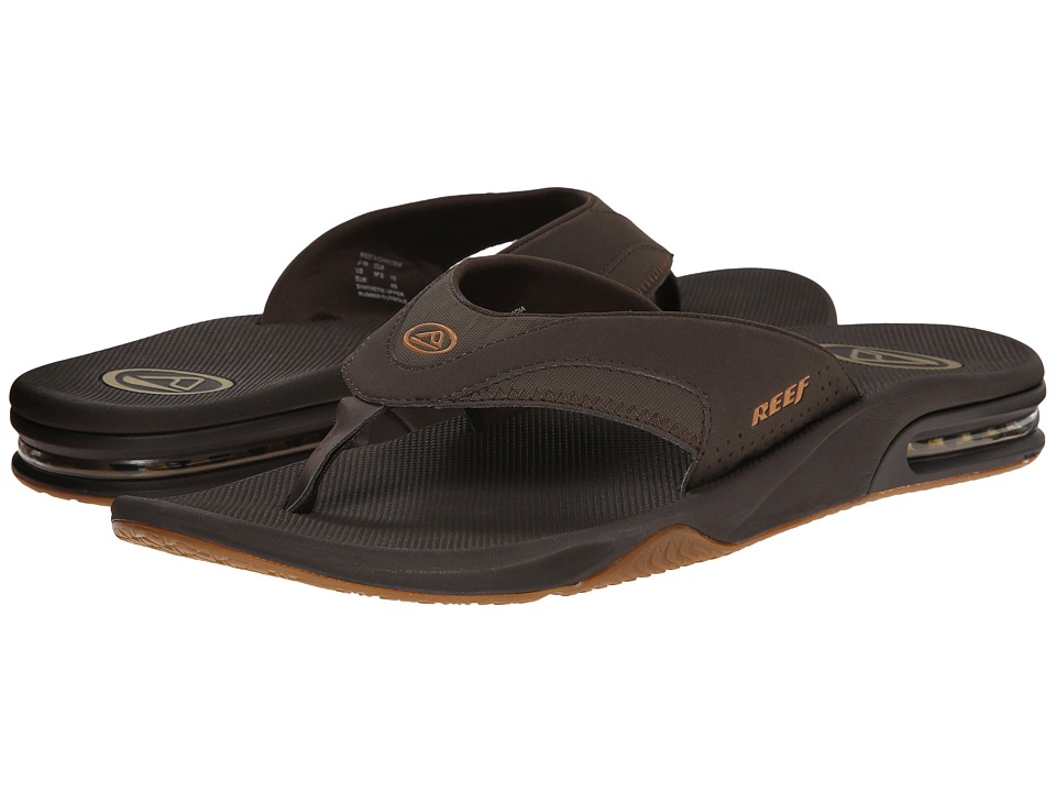 Reef - Fanning (Brown/Gum) Men's Sandals