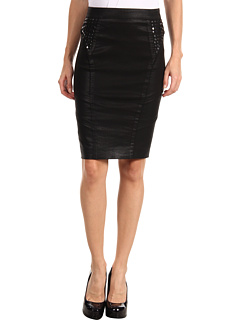 SALE! $136.99 - Save $111 on Rachel Roy Studded Skirt (Indigo Shadow Black) Apparel - 44.76% OFF $248.00