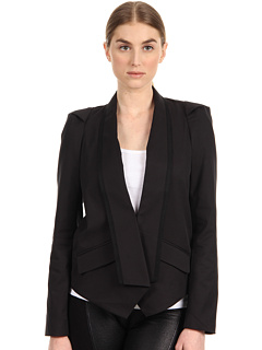SALE! $159.99 - Save $188 on Rachel Roy Tux Jacket (Black) Apparel - 54.03% OFF $348.00