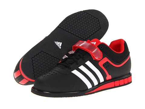 adidas - Powerlift 2 (Black/Running White/Vivid Red) Men