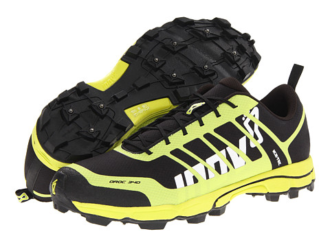 inov-8 - Oroc 340 (Black/Lime) Running Shoes