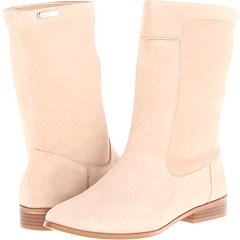 Calvin Klein Clarisa (Natural Suede) Footwear