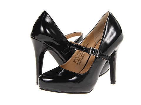 rsvp - Spencer Mary Jane (Black Patent) Women's Maryjane Shoes