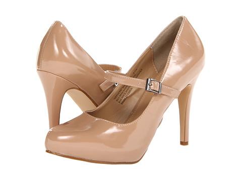 rsvp - Spencer Mary Jane (Nude Patent) Women's Maryjane Shoes