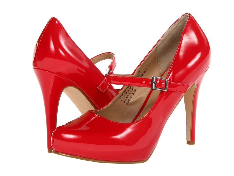 rsvp - Spencer Mary Jane (Red Patent) Women