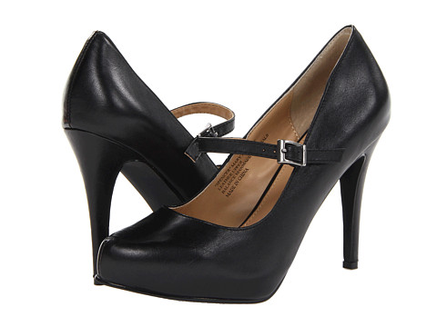 rsvp - Spencer Mary Jane (Black Leather) Women's Maryjane Shoes