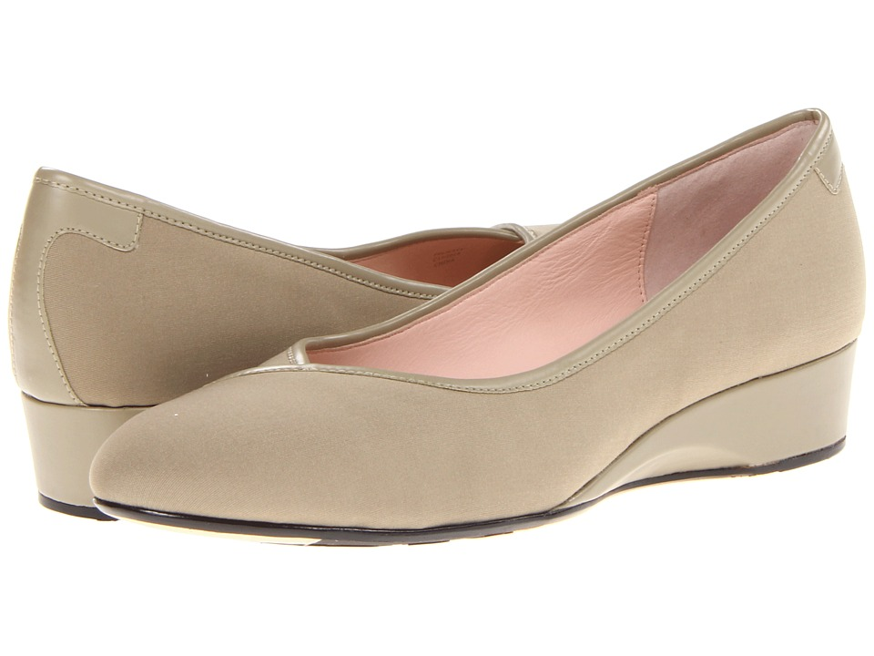 Taryn Rose Felicity (Beige Stretch Fabric) Women