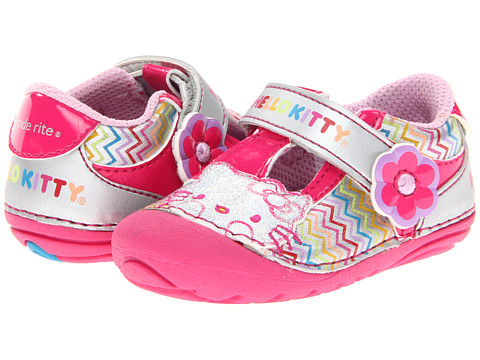 Stride Rite - SRT SM Hello Kitty (Infant/Toddler) (Silver/Multi) Girl
