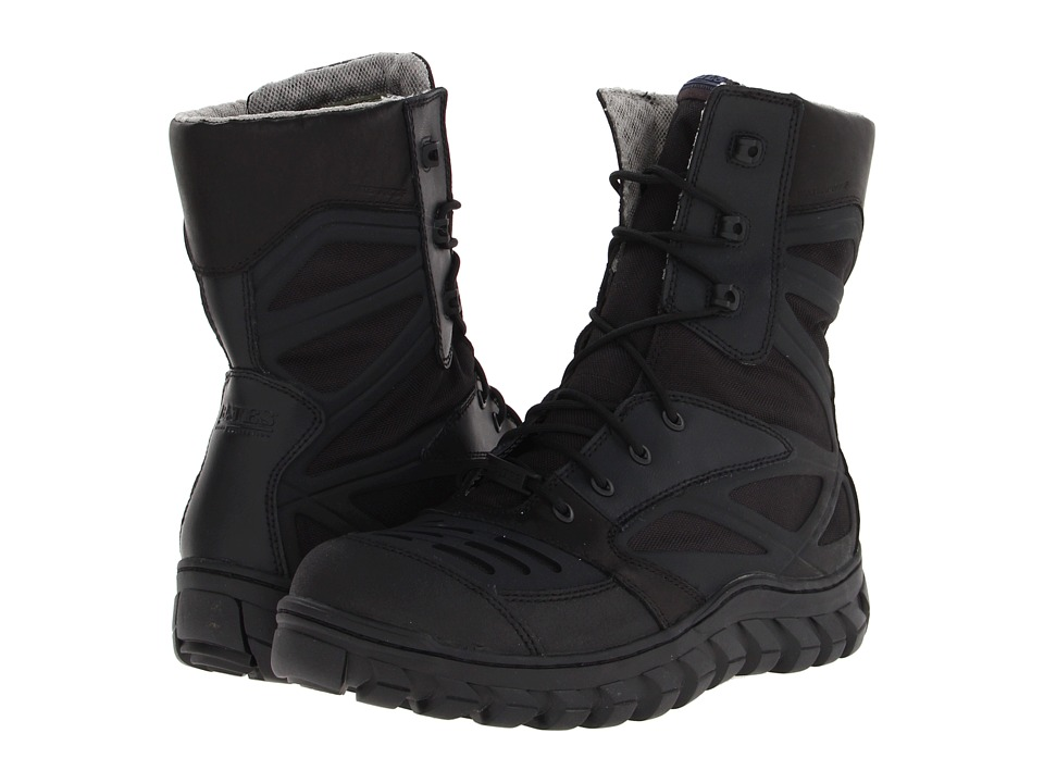 Bates Riding Collection - Reyes Hi (Black) Men's Lace-up Boots
