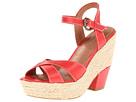 Corso Como Roxi (Coral Calf) Women's Wedge Shoes