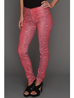 SALE! $66.99 - Save $122 on James Jeans James Twiggy Skin in Ruby Alligator (Ruby Alligator) Apparel - 64.56% OFF $189.00