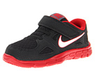 Nike Kids Flex Supreme TR 2 (Infant/Toddler) (Black/Gym Red/Dark Grey/White)