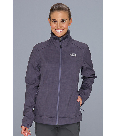 The North Face Chromium Thermal Jacket (Greystone Blue Heather) Women's Coat