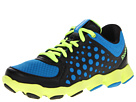 Reebok - ATV19 (Little Kid) (Black/Risk Blue/Neon Yellow)