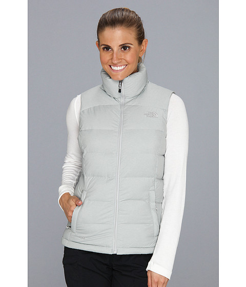 The North Face - Nuptse 2 Vest (High Rise Grey Heather) Women