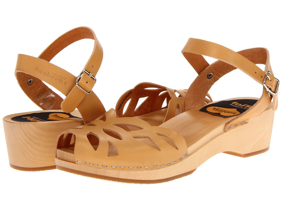 Swedish Hasbeens - Ornament Clog (Nature) Women's Sandals