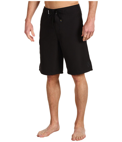 Hurley - One Only Supersuede 22 Boardshort (Black) Men's Swimwear