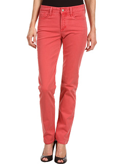 SALE! $24.99 - Save $95 on NYDJ Sheri Skinny Washed Fine Line Twill (Poppy Red) Apparel - 79.18% OFF $120.00